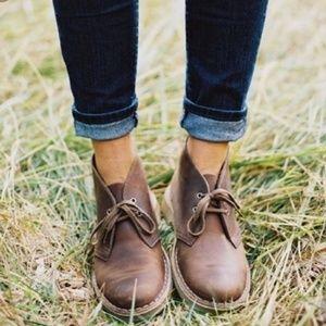 Clarks Original Brown Desert Boot